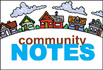 Thumb community note icon