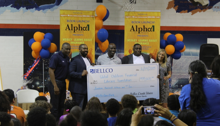 Youth Learn the Value of Insurance from Broncos Legends  Boys and Girls Club Hosts Book Release