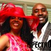 Morris Chestnut with Rosemarie